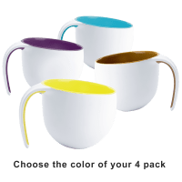 Deals on 4-Pack Asobu Porcelain Jewel Mugs