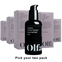 2-Pack Olfatix Toilet Odor Neutralizer