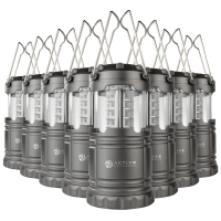 Deals on 8-Pk AR Portable and Collapsible Water Resistant LED Lanterns