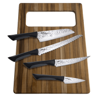 Deals on Kai Luna Professional Knife Set with Sheaths & Cutting Board