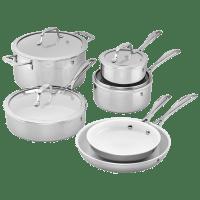 Deals on J.A. Henckels International RealClad 10-Pcs Cookware Set
