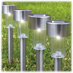 12-Pack Eternal Living Premium Solar Pathway Lights