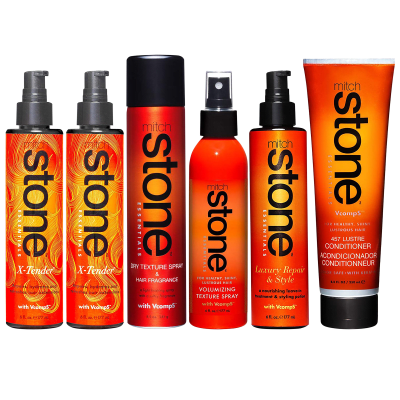 6-Piece Mitch Stone Celebrity Haircare Set