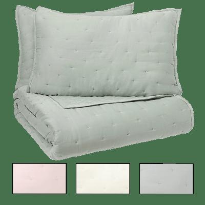 Deals on Vue Elements 3-Piece Coverlet Bedding Set