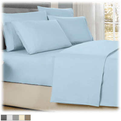 Kathy Ireland 4-Piece Cool Comfort Sheet Set