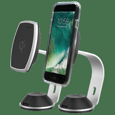 2-Pack Scosche MagicMount Pro Magnetic QI Charging Mounts