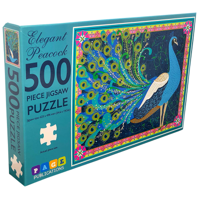 Deals on 2-Pack 500 Piece Jigsaw Puzzles