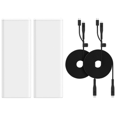 4-Pack Mophie Power Boost XL with 2 USB-C Switch Tip Cables