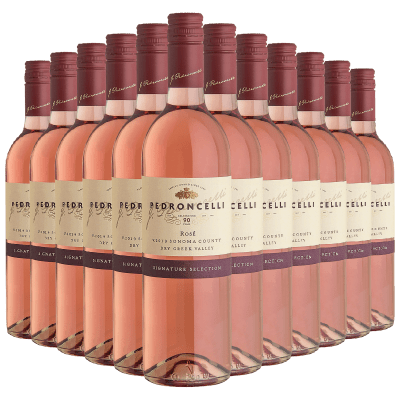 12-Bottles (1 Case) of Pedroncelli 2019 Rose Wine