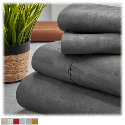 Rayon from Bamboo Embossed Design Sheet Set