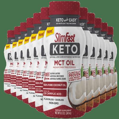 12-Pack Slimfast Keto Mct Oil (96oz)