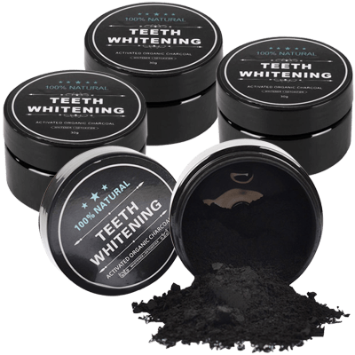 Deals on 4-Pack: Charcoal Teeth Whitener