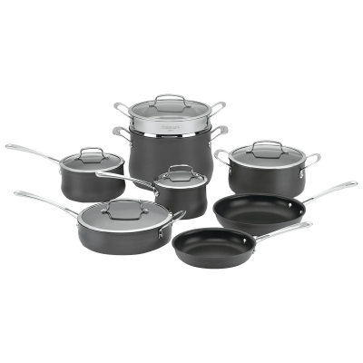 Deals on Cuisinart 13-Piece Hard Anodized Cookware