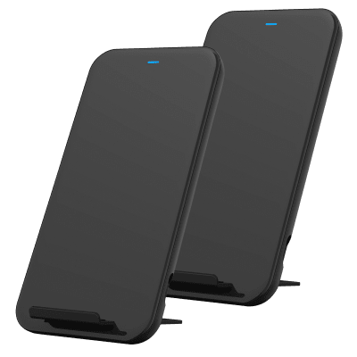 2-Pack Studio by Belkin 10W Wireless Rapid Charging Stand