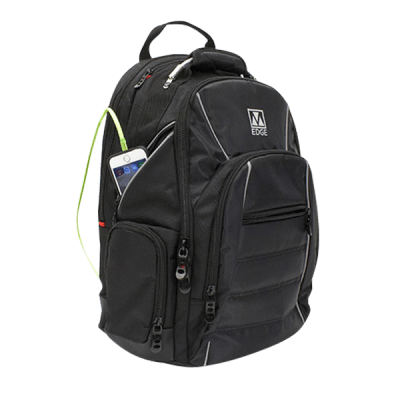 Deals on M-Edge Cargo Backpack W/Removable 6000mAh Powerbank