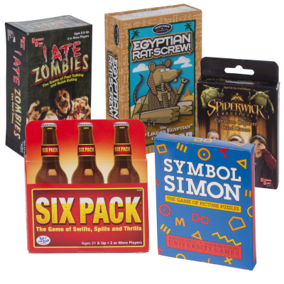 5-Piece University Games Card Game Bundle