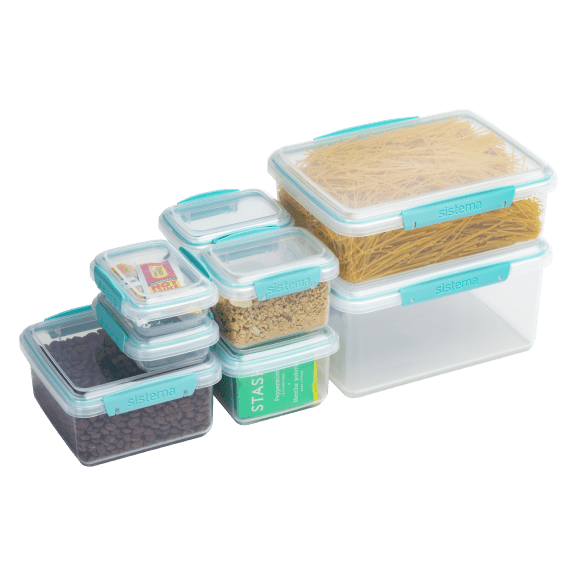 Sistema KLIP IT 16-Piece Airtight Food Storage Container Set