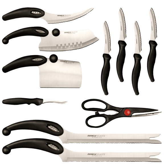 Miracle Blade III Perfection Series 11 Piece Cutlery Set