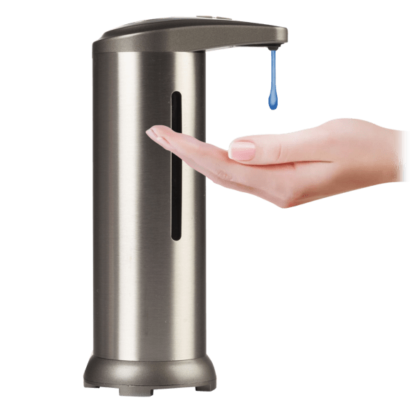 Stainless Steel Touchless Soap Dispenser with Window
