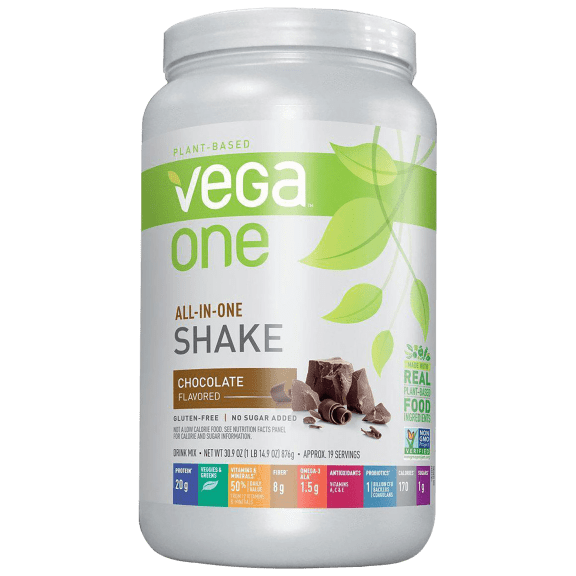 2-Pack: Vega One All-In-One Meal Replacement & Protein Shake (3.86lb)