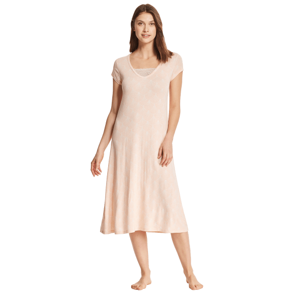 Kathy Ireland Printed Fans Nightgown