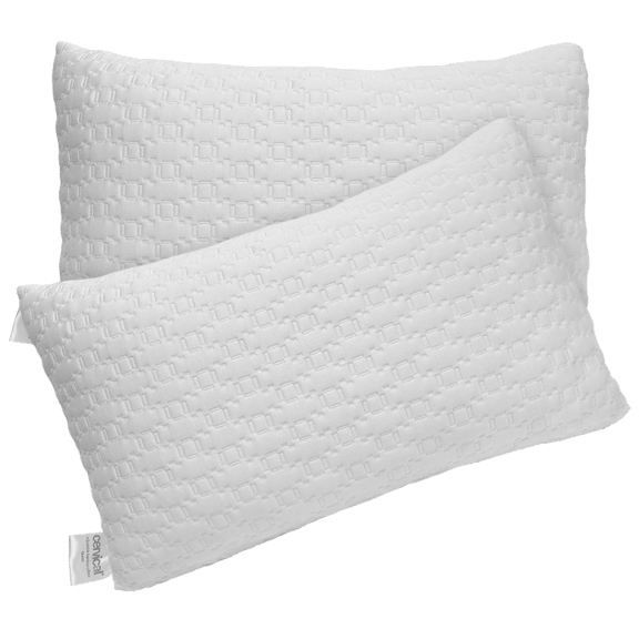 2-Pack: Bed & Brand Adjustable Bamboo Pillows