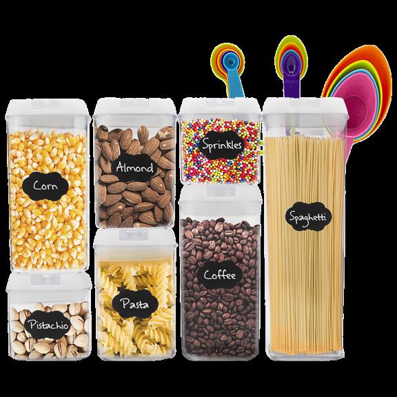 Eternal Kitchen Ideas 7-Piece Airtight Food Storage Container Set