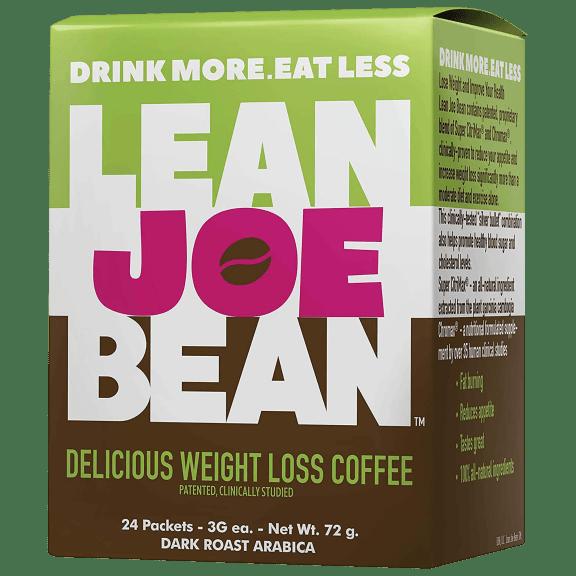 24-Pack: Lean Joe Bean Instant Keto Coffee for Weight Loss | Slimming & Detox