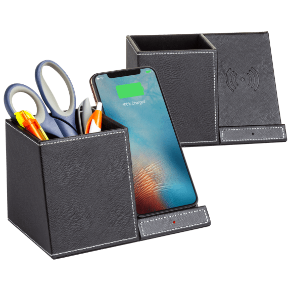 2-Pack: Acesori Pro Wireless Rapid Charging Stands with Pen Holders