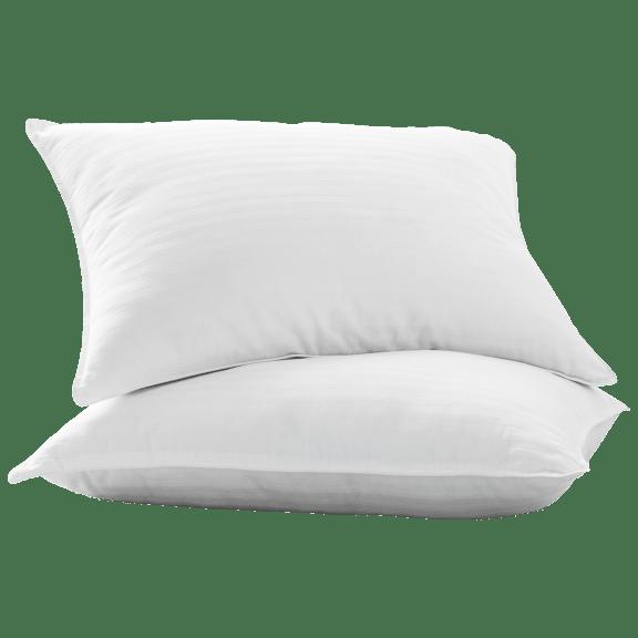 2-Pack: Villa Novum Zero-Shift Plush Gel Fiber Pillows (Standard or King)