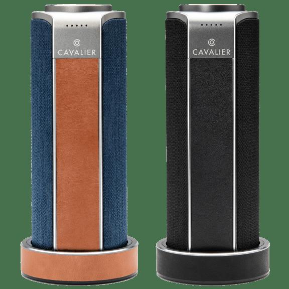 Cavalier Maverick Portable Bluetooth + Wi-Fi Speaker with Alexa & Charging Base