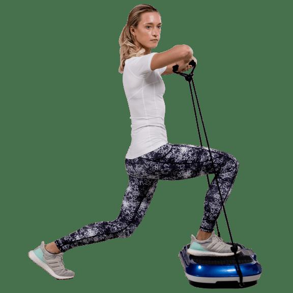 LifePro Fitness Waver Full Body Vibration Machine with Resistance Band Kit