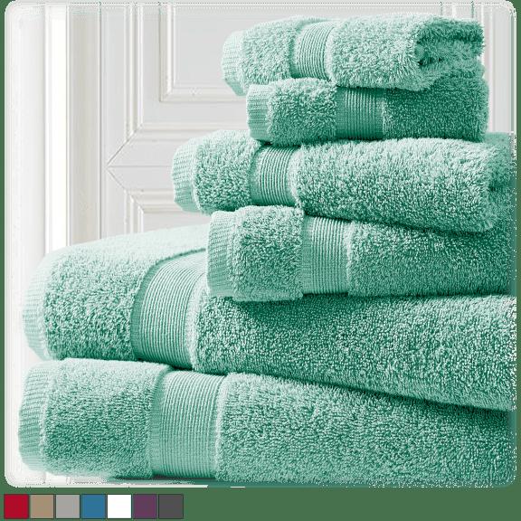 Spirit Linen Home 6-Piece Towel Sets