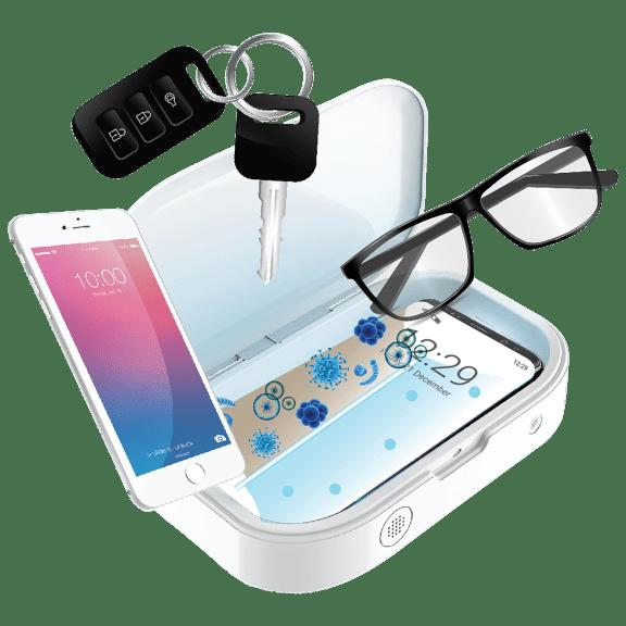 Gabba Goods Phone & Accessory UV Light Sanitizer Box