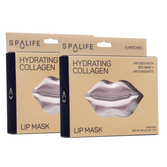 12-Pack: My SpaLife Hydrating Collagen Lip Masks