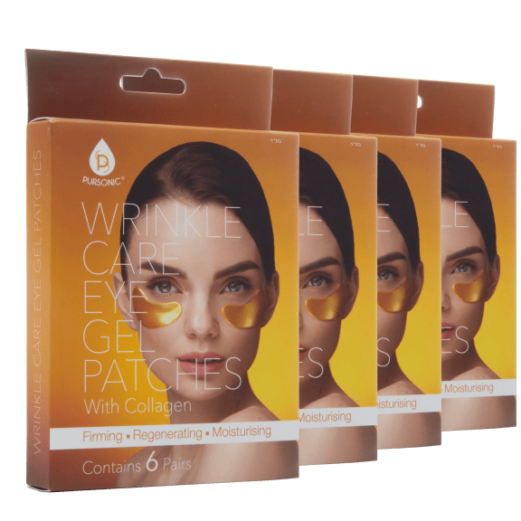Pursonic Anti-Aging Wrinkle Care Gold Under Eye Collagen Patches (24 Pairs)