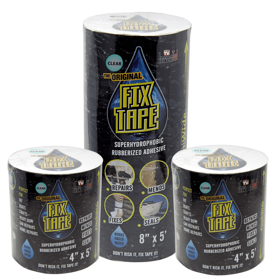 3-Pack Original Fix Tape Rubberized Waterproof Adhesive Seal Tape