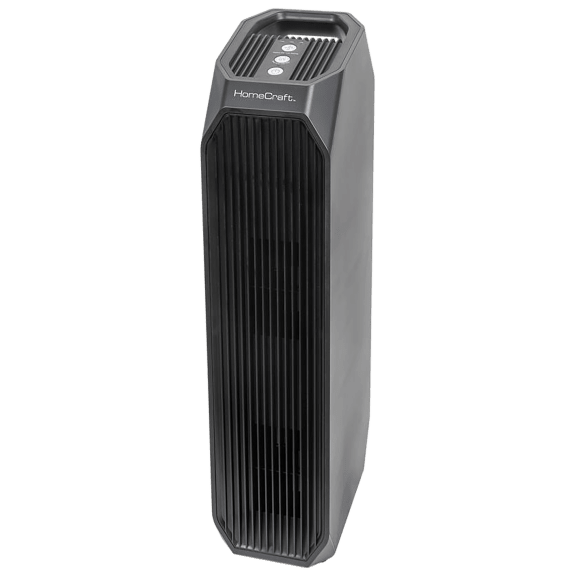 HomeCraft Instant Clean 3-in-1 Air Purifier w/ UV-A, HEPA and Carbon Filtration
