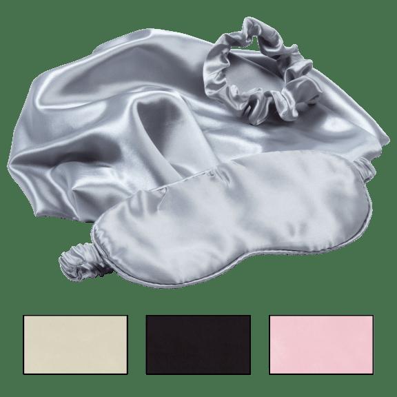 Revive 3-Piece Satin Sleep Set (Pillowcase, Eye Mask, Scrunchie)