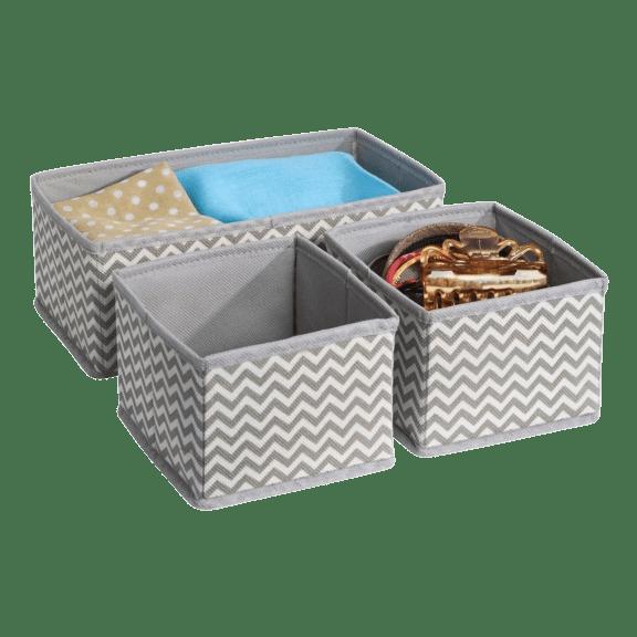 3-Pack ClosetMate Storage Organizer Set