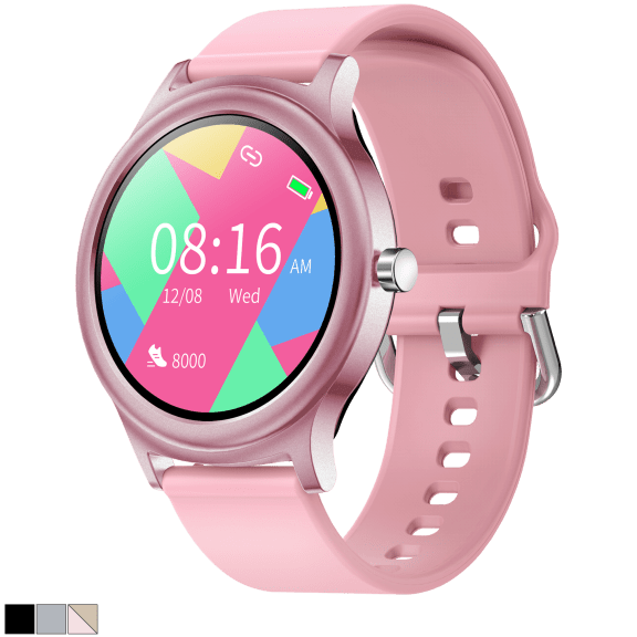 TouchTime Full Screen Round Smartwatch