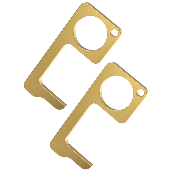 2-Pack: Steliron No-Touch Antimicrobial Keys