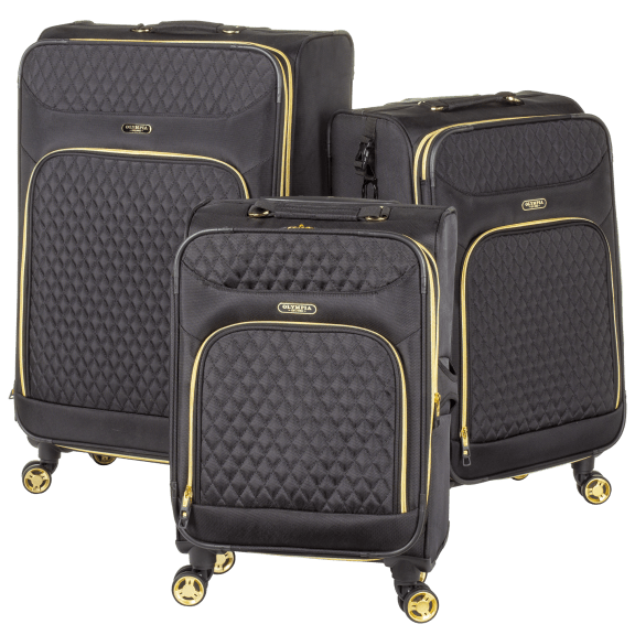 Olympia USA 3-Piece Spinner Luggage Set