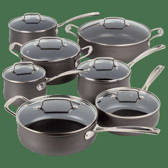 Cuisinart 14-Piece Nonstick Hard-Anodized Cookware Set