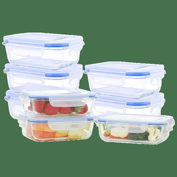 Kinetic Go Green Rectangular 16-Piece Food Storage Set
