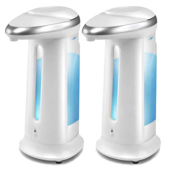 2-Pack: FineLife Touchless Soap Dispensers