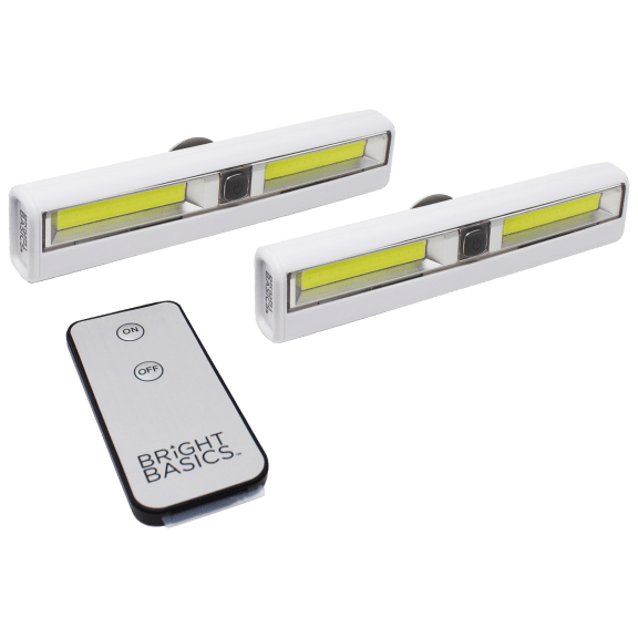 Bright Basics Ultra Bright Motion Activated Sensor Light Bar Wireless Battery