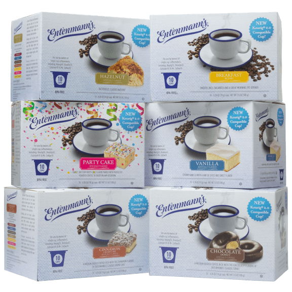 Entenmann's 60-Pack of Assorted Single Serve Coffee Cups