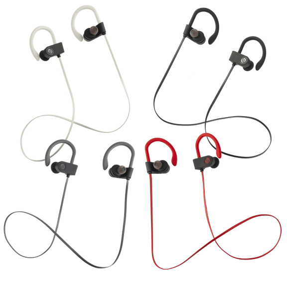 2-Pack: Lifestyle Advanced Elevate Premium Bluetooth Stereo Earbuds