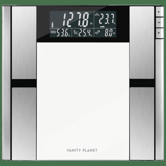 Vanity Planet Work It Digital Scale & Body Analyzer